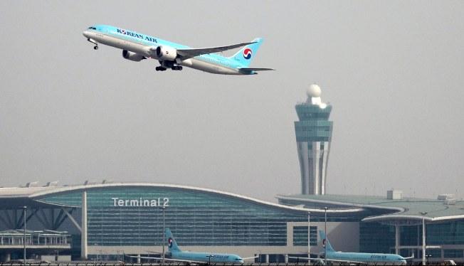 韓航被控單方面將哩程累計從沒有期限,改為10年。  歐新社