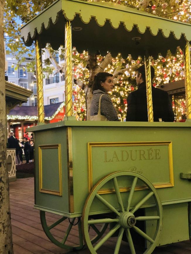 格蘭岱商場 即日起聖誕「飄雪」