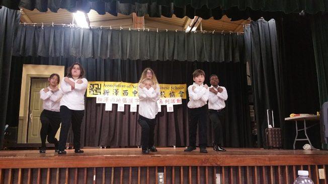 新澤西中校協會朗誦賽 家長秀創意