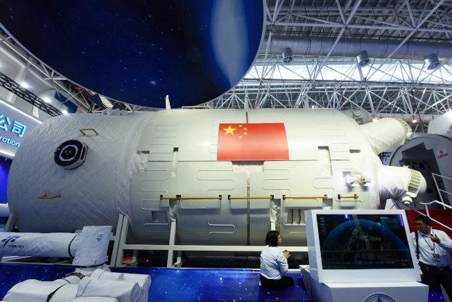 中國「天和號」太空站。(路透)