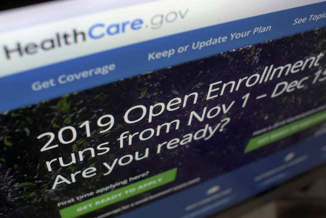 2019年可負擔健保登記將於15日截止,由於失業率低,今年登記人數較去年同期減少。(美聯社)