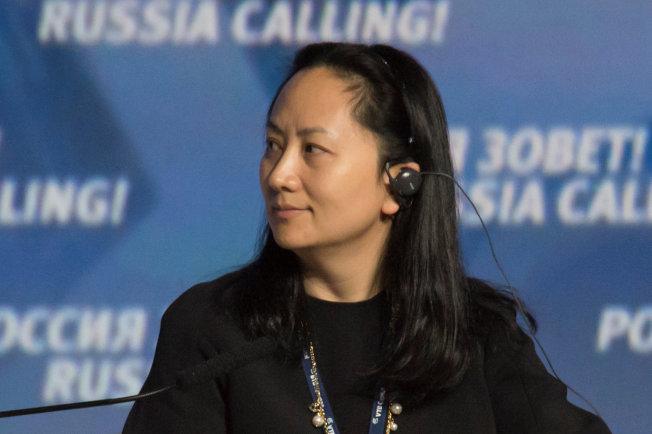 華為財務長孟晚舟2014年在莫斯科出席投資論壇。(路透)