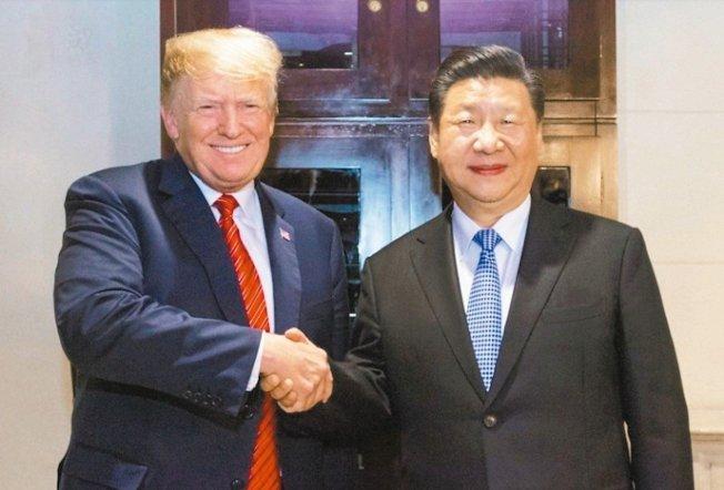 中國國家主席習近平(右)日前和美國總統川普在G20「川習會」合影。 圖/取自新華網
