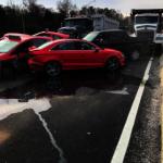 北維州際公路10車連環撞 1人受傷