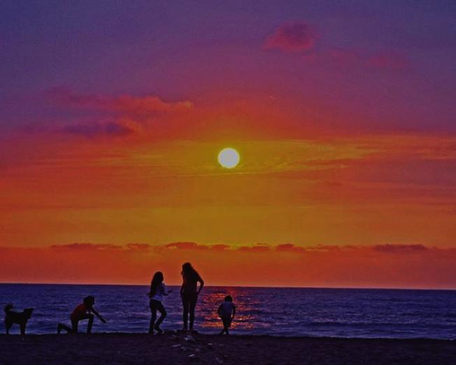 厄瓜多的海灘美景。(Sean Kelly提供)