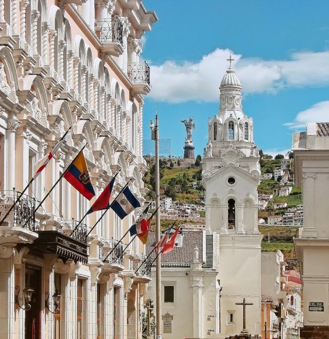 厄瓜多曾是西班牙殖民地,建築具西班牙特色。(Pixabay)