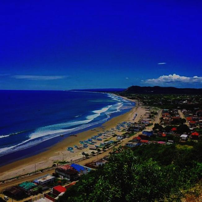 厄瓜多的美麗海岸線。(Sean Kelly提供)