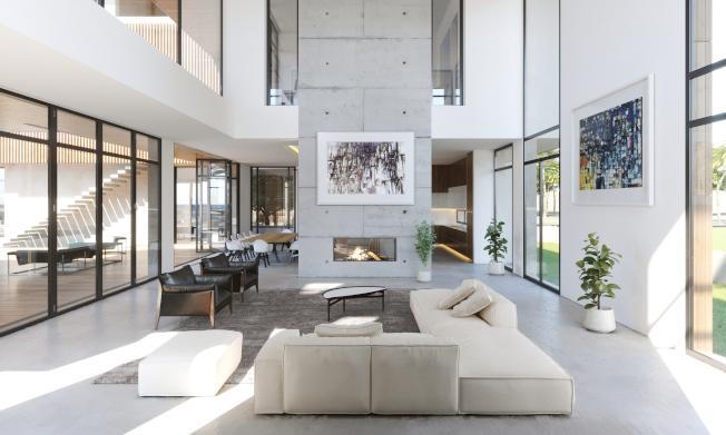 鮑慧珊夫婦將在厄瓜多興建高檔住宅。圖為彩現圖。(鮑慧珊提供)