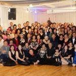 蔡松才、蔡威萊國標舞學苑 以舞蹈跨年