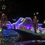 最美耶誕屋 燈飾全手工打造