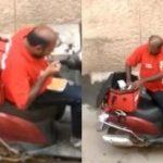 印度外送員偷吃餐點被開除 網友生氣轉同情