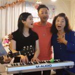 人手一樂器 華裔家庭演唱會暴紅