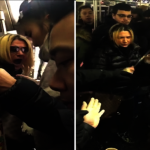 白人惡婦紐約地鐵打人辱華 遭乘客制伏 被逮捕控多項罪名
