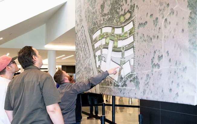 蘋果公司將斥資10億元,在德州奧斯汀打造占地133英畝的新園區。(Getty Images)