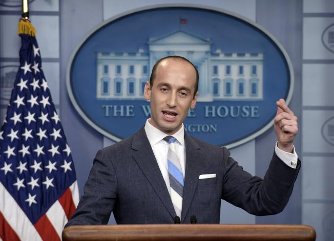 白宮高級政策顧問米勒16日在電視受訪表示,聯邦高院最終會裁定「歐記健保」違憲。(美聯社)