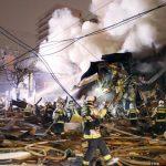 居酒屋瓦斯爆炸 日數幢建物倒塌