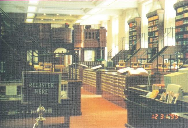 國會圖書館中文部閱覽室。(照片皆作者提供)