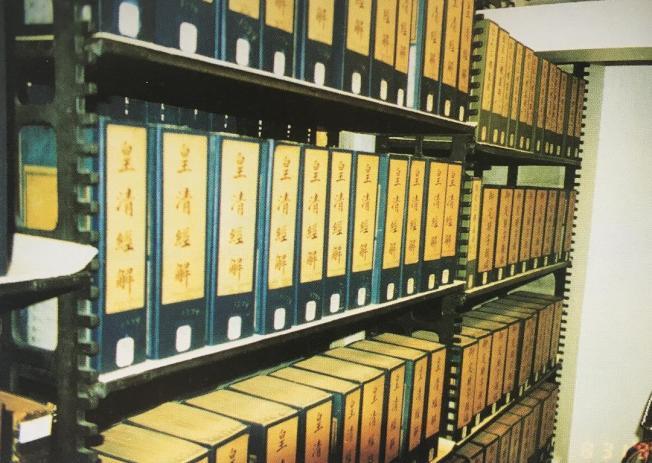 1896年,同治皇帝向國會圖書館贈送了933冊線裝書。這是國會圖書館收到的第一批中文書籍。(照片皆作者提供)