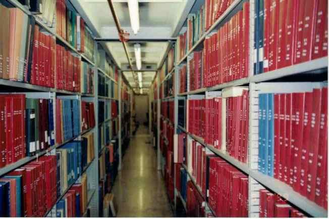 2004時,國會圖書館中文部已有超過100萬冊藏書。(照片皆作者提供)