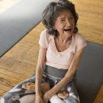 百歲瑜伽老師 3招傳授快樂長壽秘訣
