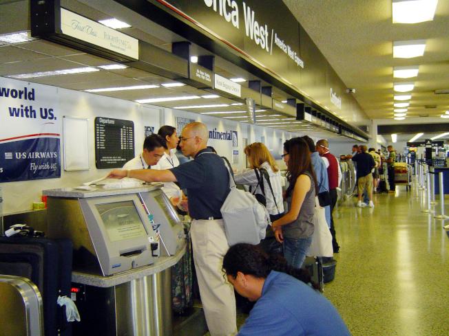 聖荷西國際機場創新客流量新高紀錄。(本報檔案照)