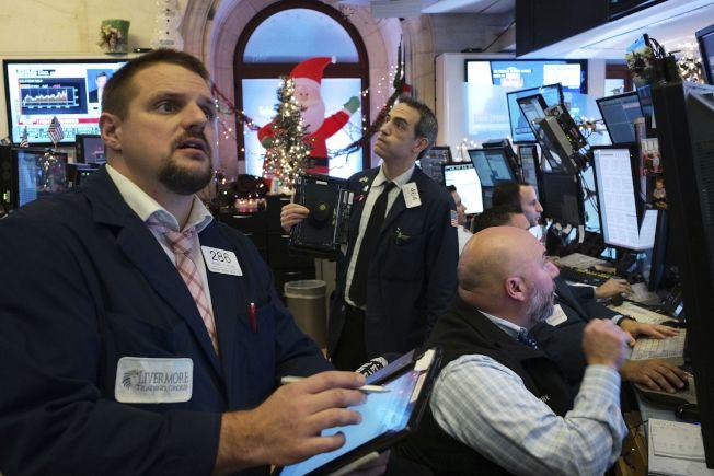 投資人認為Fed的決策「不夠鴿派」。美聯社