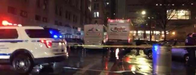 救護車迅速將傷者送往醫院。(讀者提供)