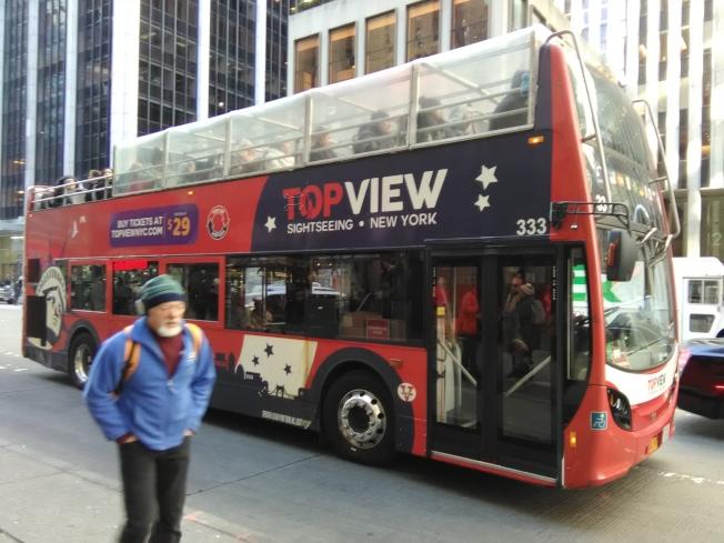 紐約一日遊由美國主流公司經營,比較規範。(韓傑/攝影)