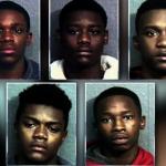 高中生5人組 7小時連犯8搶案