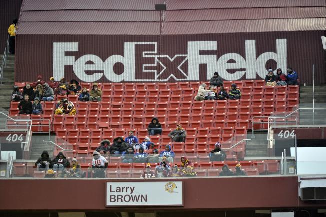 美式足球紅人隊聯邦快遞球場。(美聯社)