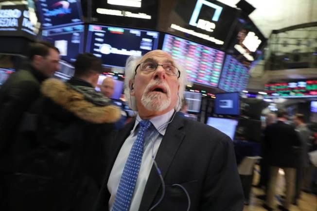 交易策略師指出,美股明年可能持續走低。圖╱Getty Images