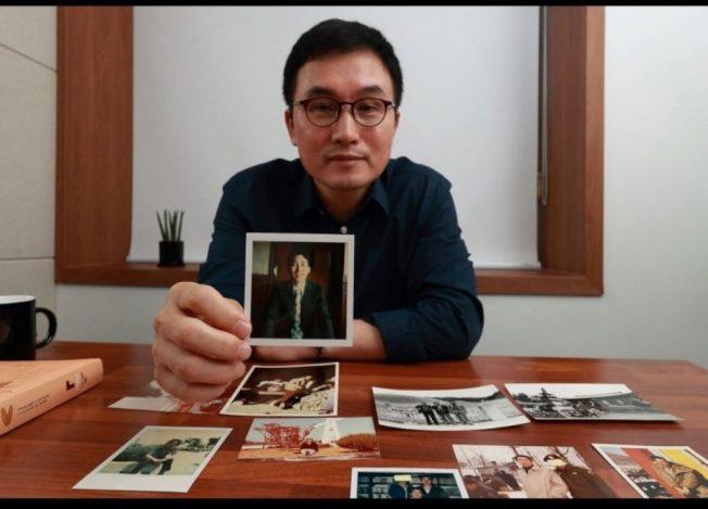 金承弼表示,爸爸的本名是「金士福」,但早在1984年就因為肝癌去世了。(取材自韓民族日報)