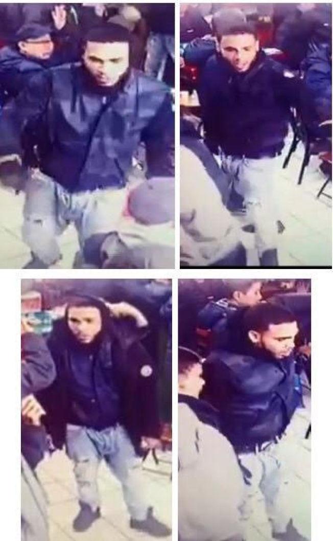 16日在麻將館犯案的嫌犯照片。(警方提供)