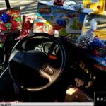 超暖校車司機 送全車學童耶誕禮物