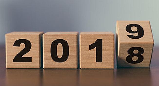 2018年即將結束,舊的一年留下許多回憶,新年度則有許多新規定值得留意。(取自IRS)