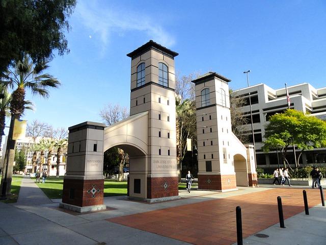 加州聖荷西州立大學(San Jose State University)。圖:pixabay