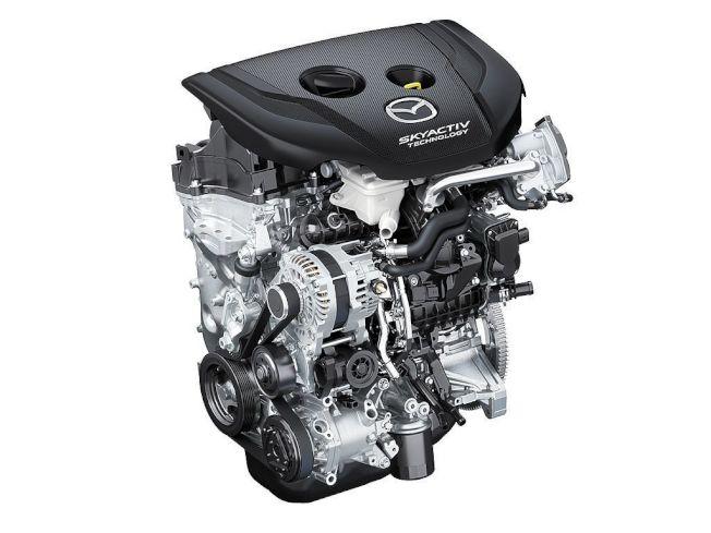 今年才推出的新1.8L Skyactiv-D渦輪柴油動力,也成為歐規新Mazda3動力選項之一。(Mazda)