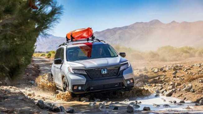 全新Honda Passport搭載與Pilot相同的3.5升i-VTEC V6引擎,搭配九速手自排變速箱,最大馬力可輸出280hp/36.2kgm。(Honda)