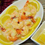 奶油蒜茸起司檸檬蝦