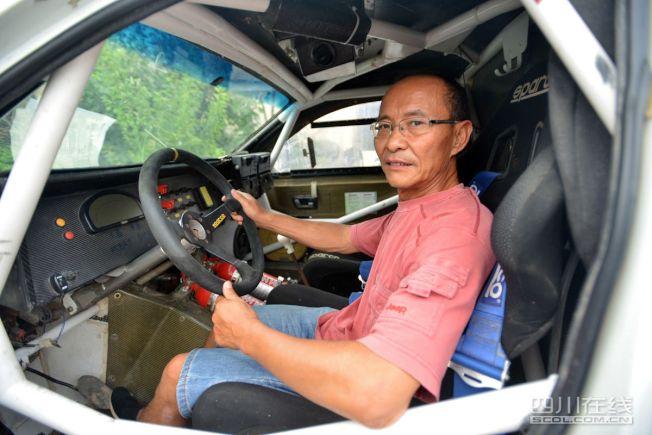 梁鈺祥笑稱自己是佛系開車,完賽比名次重要。(取材自微博)