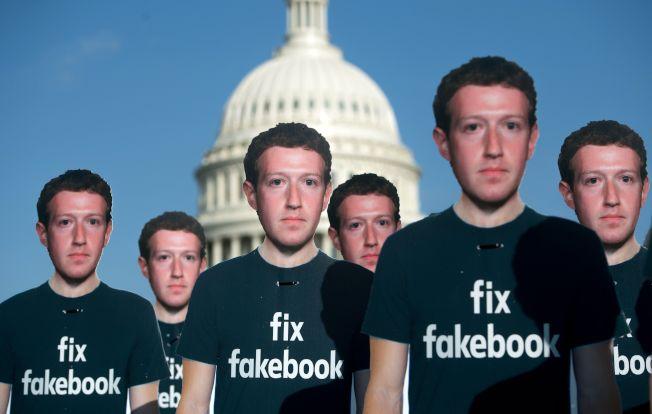 臉書該從富國銀行的經驗中學習應對危機的方式。(Getty Images)