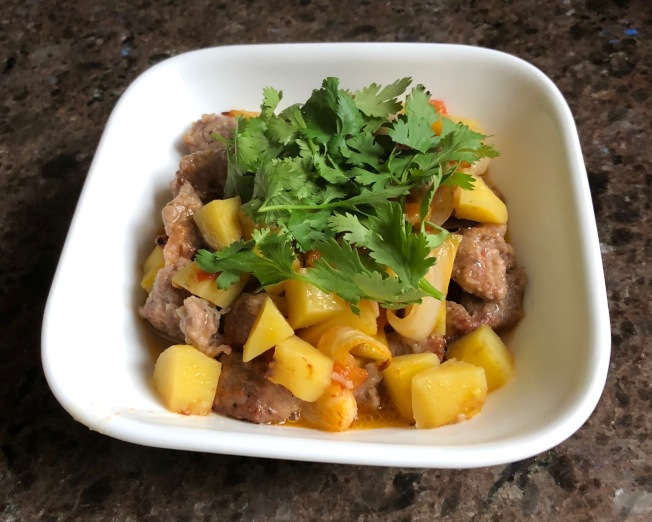 馬鈴薯燉羊肉