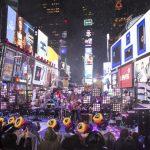新年快樂!「到時報廣場跨年 是人生成就」華人興奮見證落球