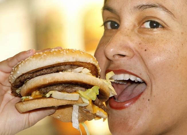 美國人比較適應吃快餐。(Getty Images)