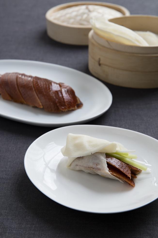 紐約大董烤鴨用自己的配方製作菜品。(圖:紐約大董提供)