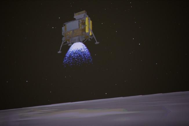 嫦娥四號降落連續示意圖2