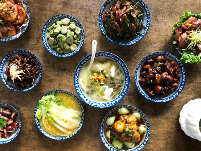 弄堂主打上海菜。(圖:弄堂提供)