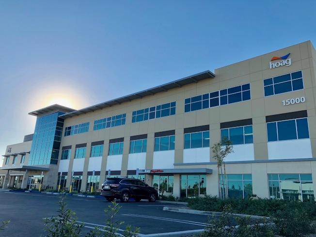 橙縣排名第一的Hoag醫院在托斯汀市建了全新分院。(記者胡清揚/攝影)