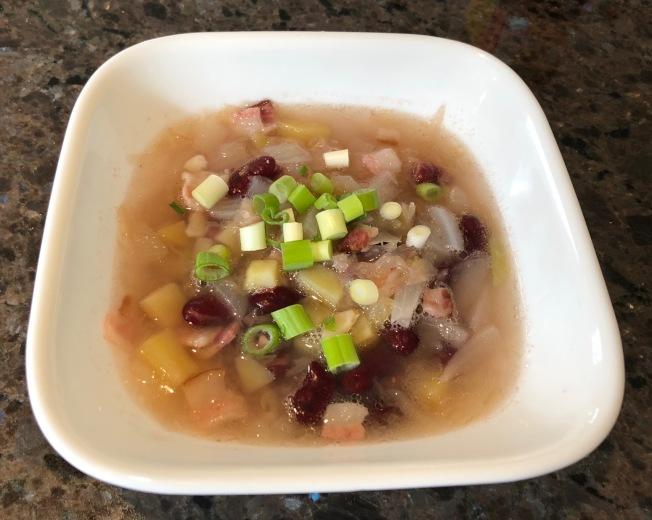 酸菜馬鈴薯菜豆湯