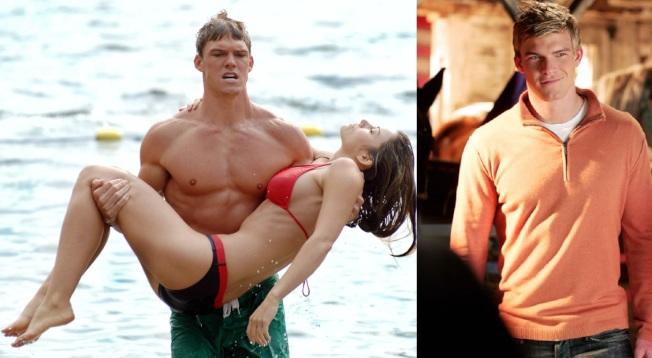 艾倫瑞奇森在影集「超人前傳」扮演過水行俠,反應還不錯。圖/摘自imdb